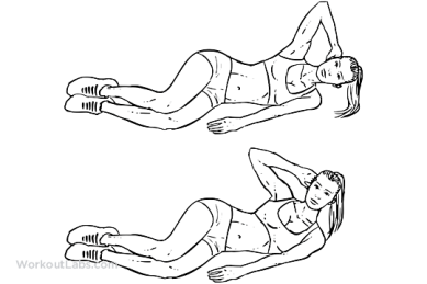 Image result for Oblique crunches
