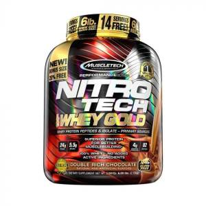 MUSCLETECH - NitroTech Whey Gold