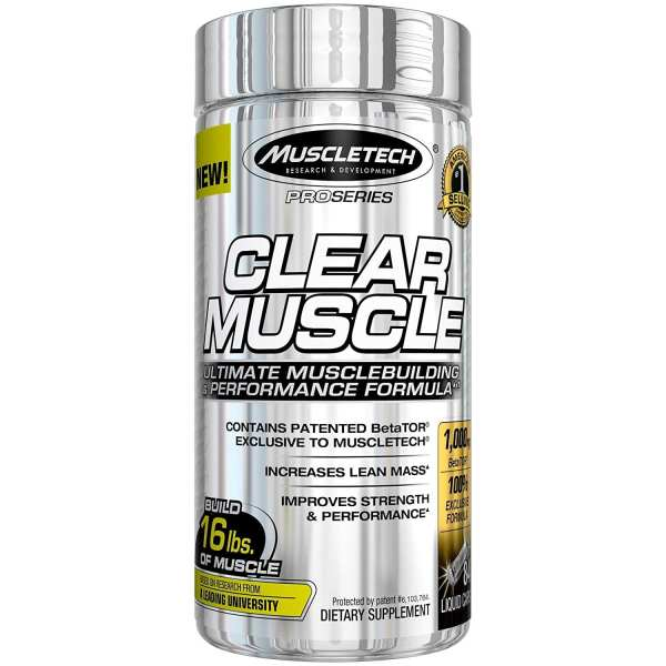 MUSCLETECH - Clear Muscle (84 Caps)