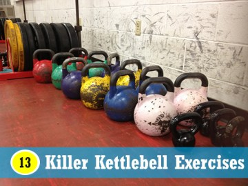 13killer kettle bell exercises