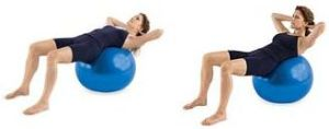 basic-crunches-on-stability-ball