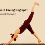 Downward Facing Dog Split - Advanced Down dog