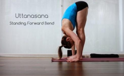 Uttanasana (Standing Forward Bend)
