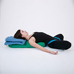 Reclining Bound Angle Pose (Supta Baddha Konasana) thumbnail