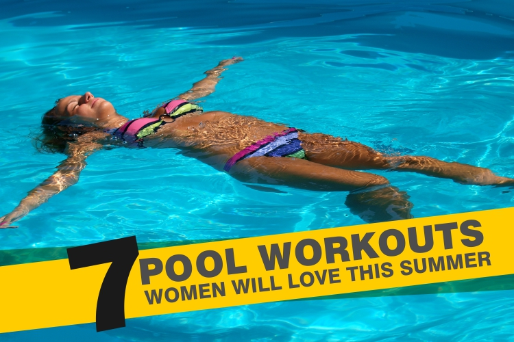 7 Pool Workouts Women Will Love This Summer