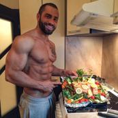 Lazar Angelov's diet