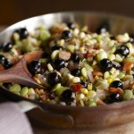 blueberry and corn succotash