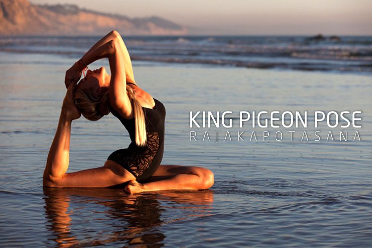 king pigeon pose