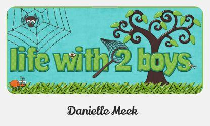 life with 2 boys Danielle Meek