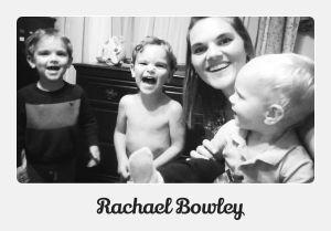 three boys and a  mom rachael bowley