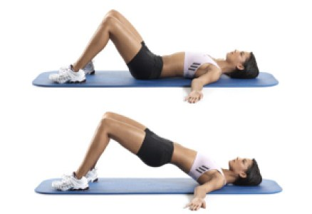 Home Workouts: Hip Raise