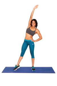 Home Workouts: Standing Chop Exercise