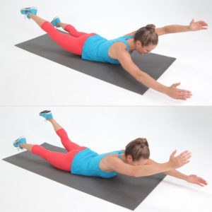 Home Workouts: The Swim Exercise for Women