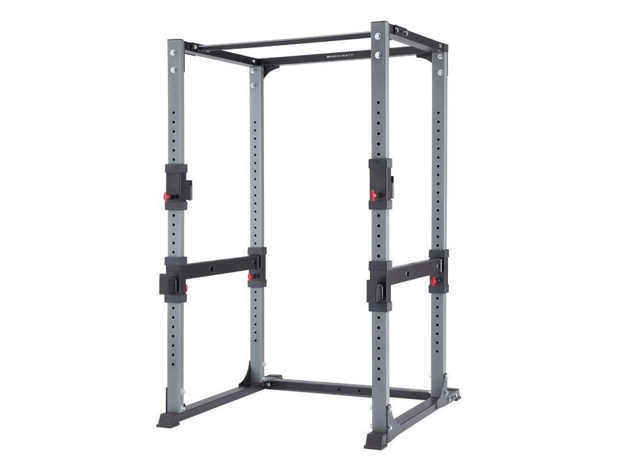 BodyCraft F430 Power Rack, Squat Rack, With Dip Attachment