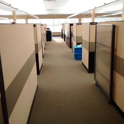 CAN044  8 x 9 Steelcase Pathways Cubicles