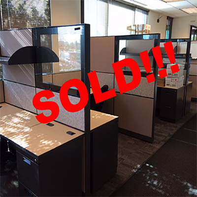 SOLD  6x6 Allsteel Concensys Cubicles  Workplace Partners