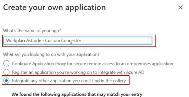 Integrate any other application