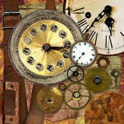 An image of clocks to illustrate the idea of the four day week