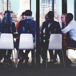 Women on board and gender balance in firms