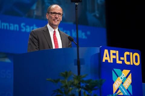 Thomas Perez @ AFL-CIO - via DOL
