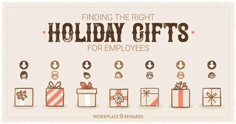 workplace rewards finding the right holiday gifts for employees