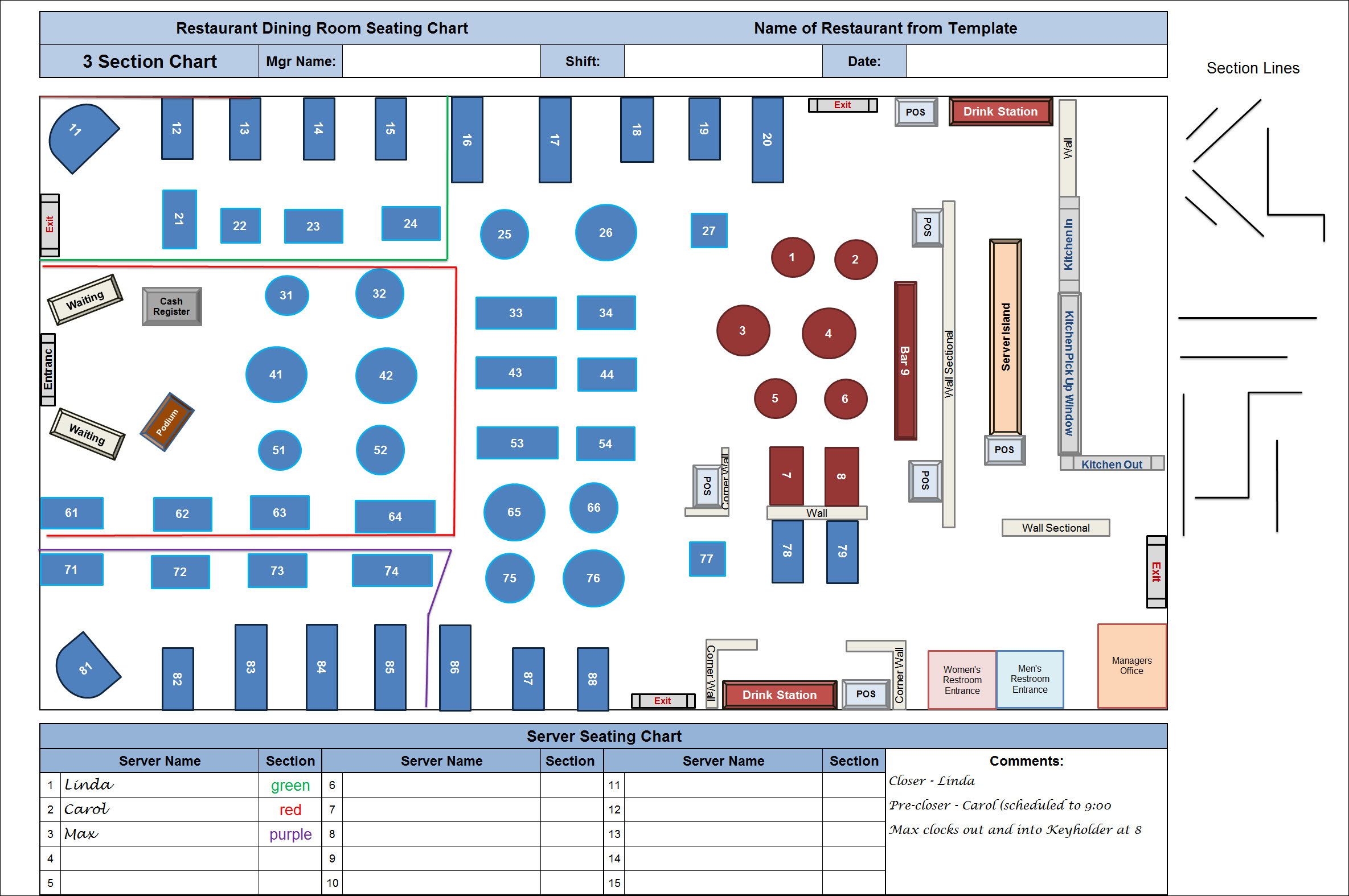 Restaurant Seating Layout  Best Layout Room