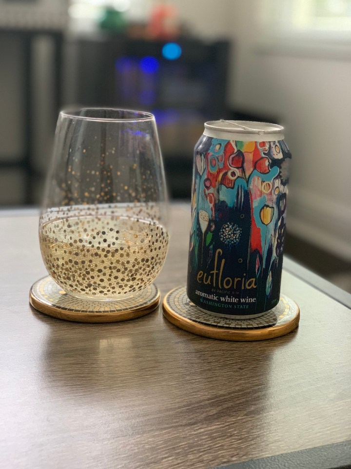 Table Topics and a Can of Wine