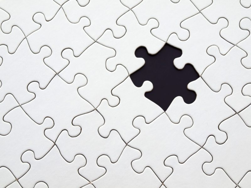 Meaning can help you find the missing piece