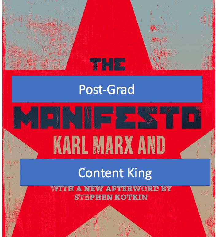 The 4 Years of Undergrad Post-Grad: A Manifesto