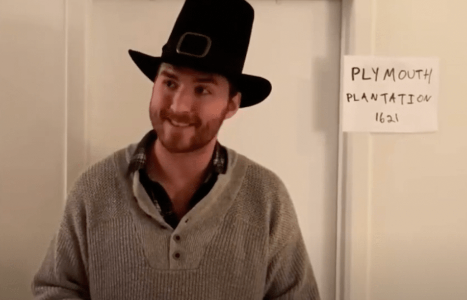 The Only Pilgrim Not Invited to Thanksgiving