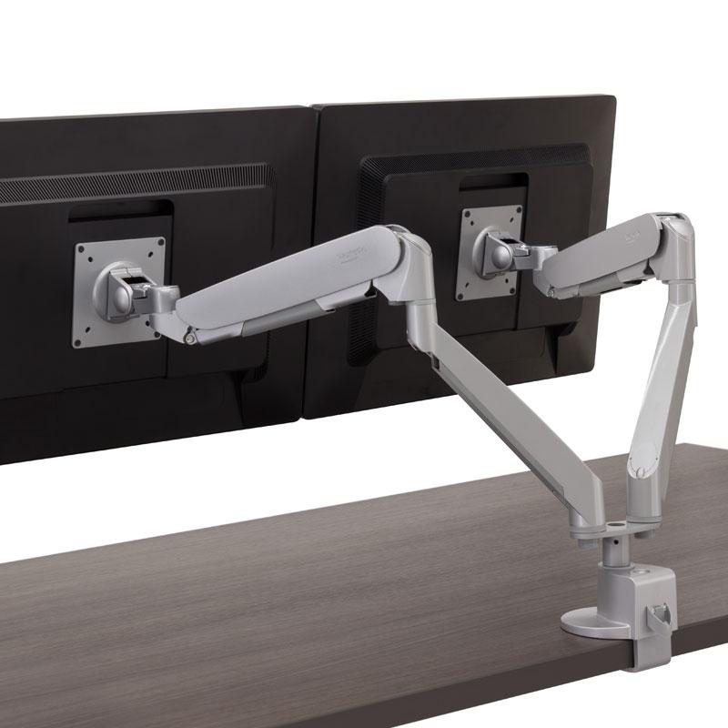 Conform Dual Articulating Monitor Arm  Workrite Ergonomics