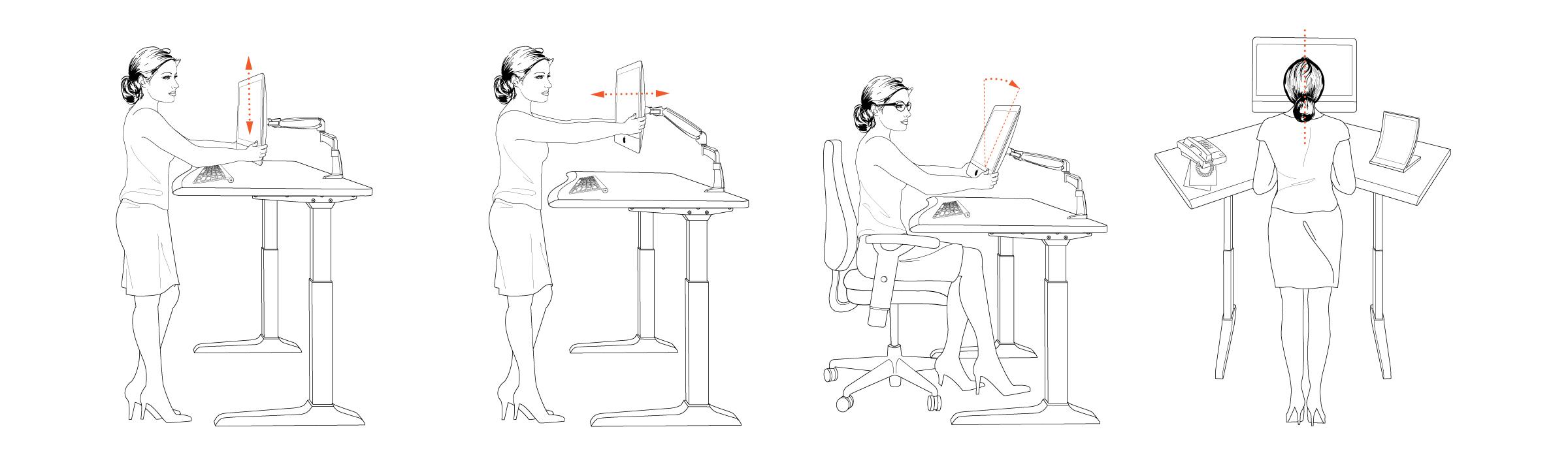Ergonomics For Standing Desks  Hostgarcia