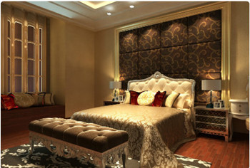 Luxury European Style bedroom interior design Free