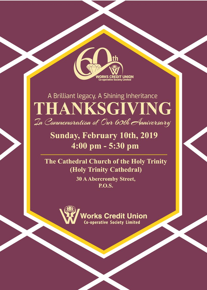 60th Anniversary Thanksgiving Service