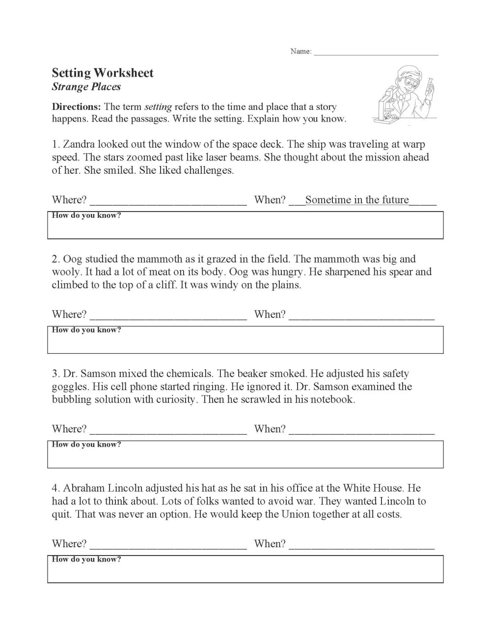 medium resolution of Yzing Story Elements Worksheets   Printable Worksheets and Activities for  Teachers