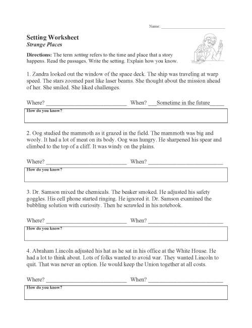 small resolution of Yzing Story Elements Worksheets   Printable Worksheets and Activities for  Teachers