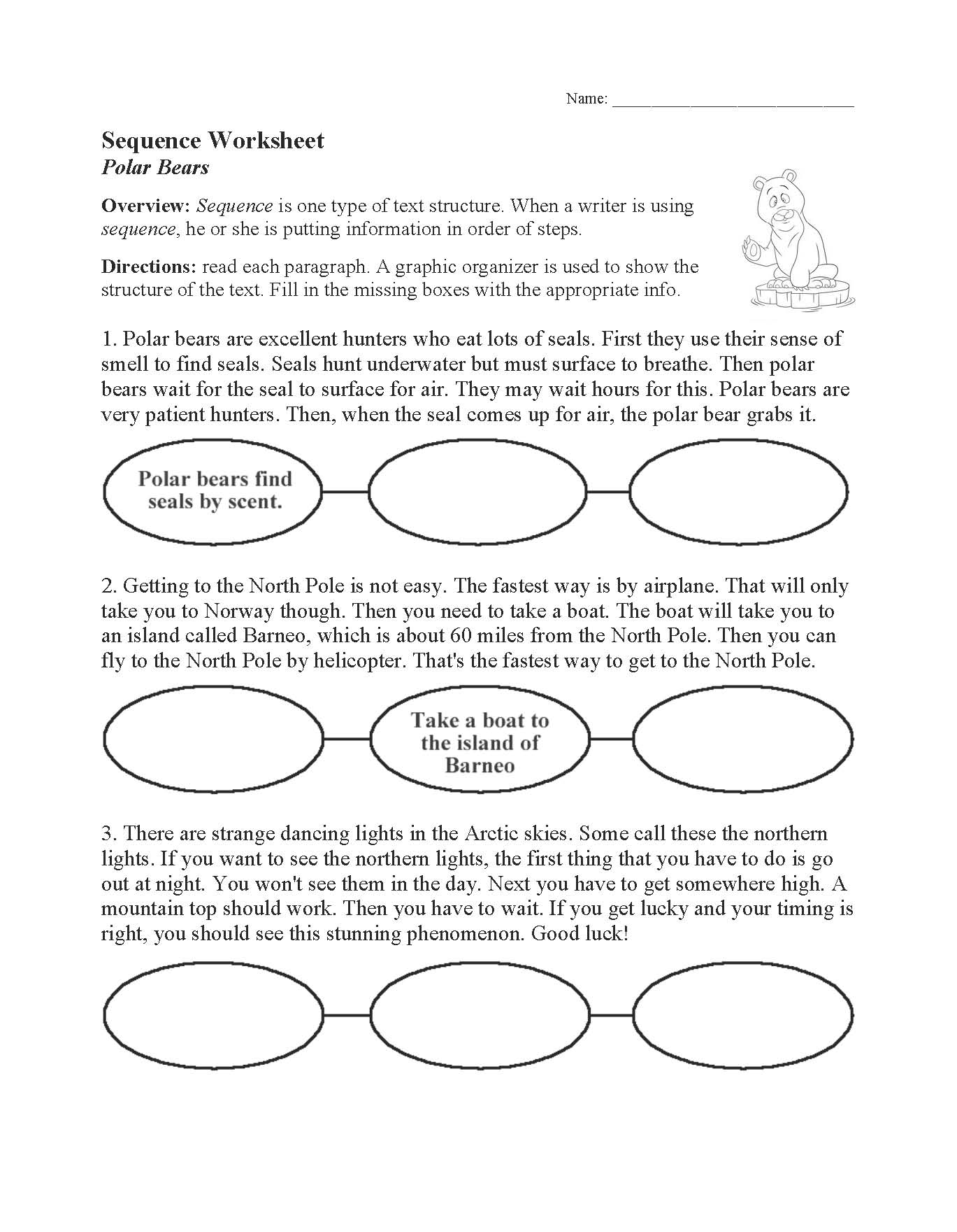 hight resolution of Text Structure Worksheets   Free for Primary Grades