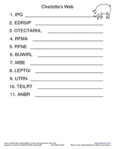 18 Best Images Of Unscramble Math Worksheets  Sentence Unscramble Worksheets Printable, Free