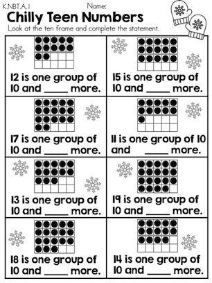 16 Best Images Of Winter Addition Worksheets  Free Printable Kindergarten Math Addition
