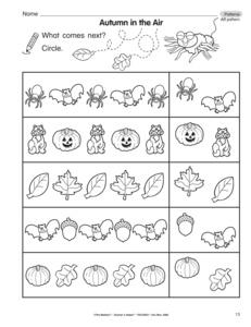 13 Best Images Of Halloween Pattern Worksheet Kindergarten  Halloween Math Pattern Worksheet