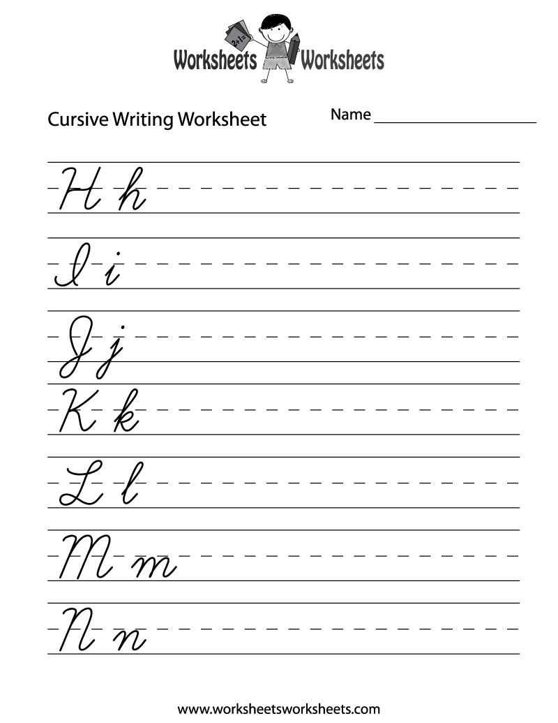 14 Best Images Of 3rd Grade Cursive Worksheets Printable  Free Printable Cursive Practice