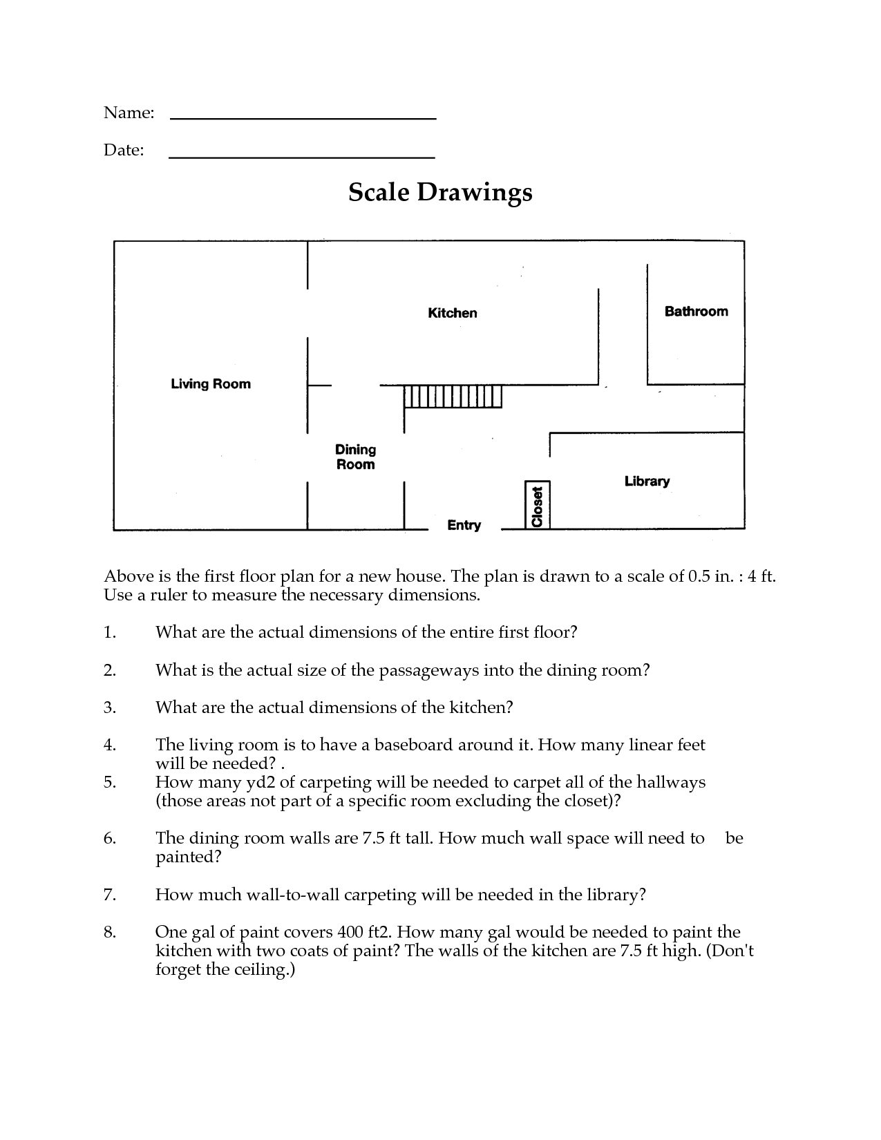 13 Best Images Of Math Map Scale Worksheets  Map Scale Activity Worksheet, Map Scale Activity