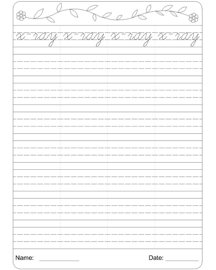 12 Best Images Of Handwriting Cursive Writing Worksheet  Cursive Handwriting Worksheets, Free