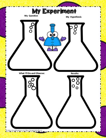 Experiment Graphic Organizer Worksheets