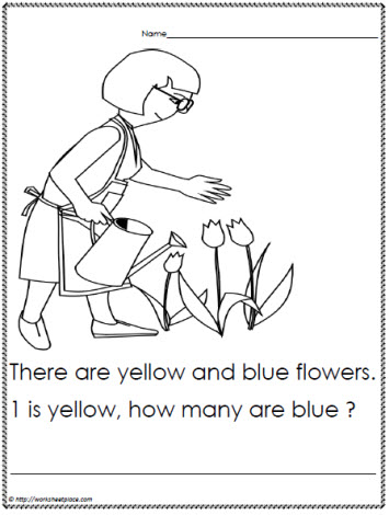 Problem solving questions for kindergarten