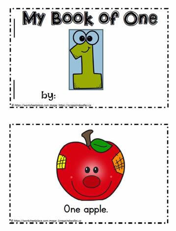 1 to 10 Number Booklets Worksheets
