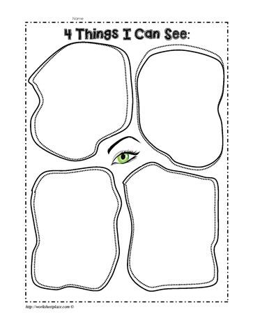 My Sight Sense Worksheets