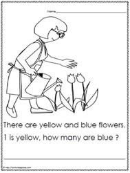 Kindergarten Problem Solving Worksheets