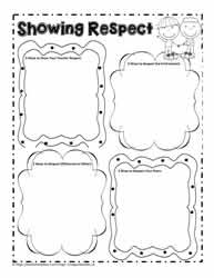 Character Worksheets