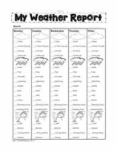 My weather report also worksheets rh worksheetplace